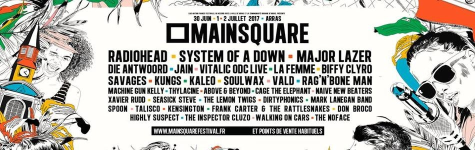 Main Square Festival ! Un grand cru cette année !