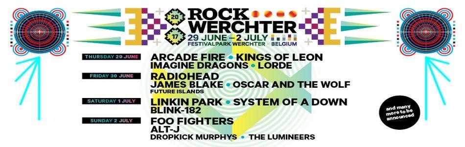 Rock Werchter 2017 ! La référence !