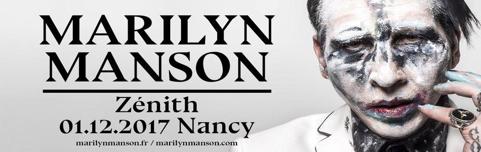 Marilyn Manson 2017 bannière