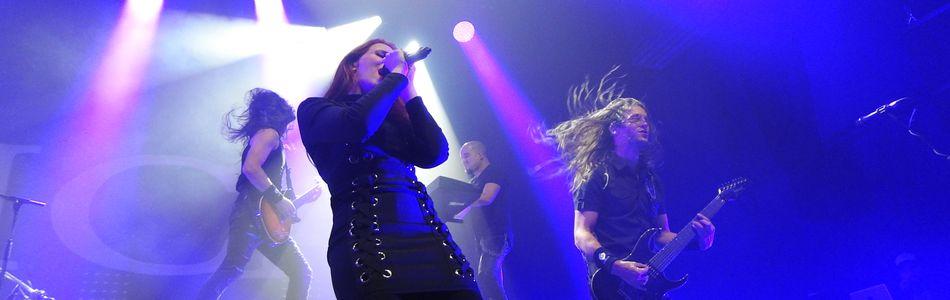 Epica + Vuur + Myrath à La BAM – Metz (57)