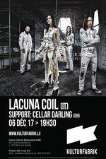 Lacuna Coil à La Kulturfabrik vignette