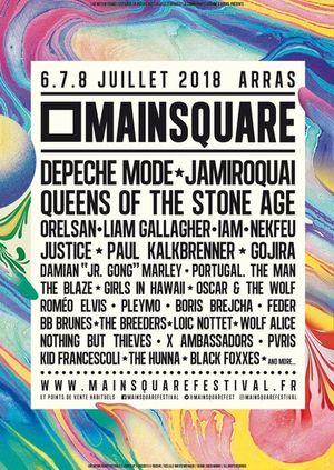 Affiche Main Square Festival 2018