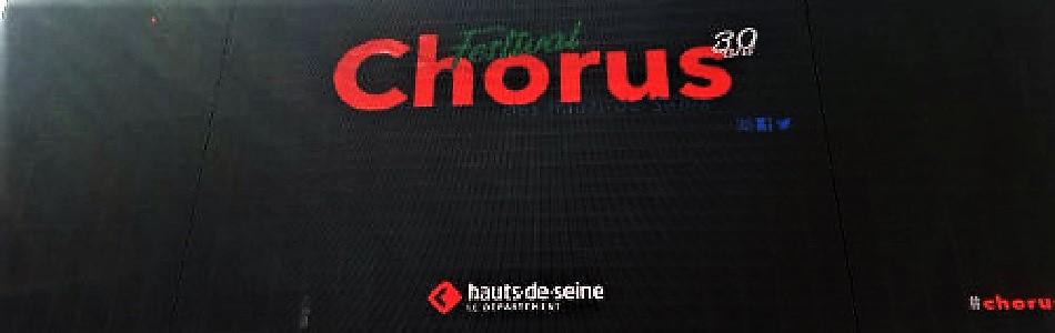 Le Festival Chorus fête ses 30 ans ! – La Seine Musicale – Boulogne-Billancourt (92)