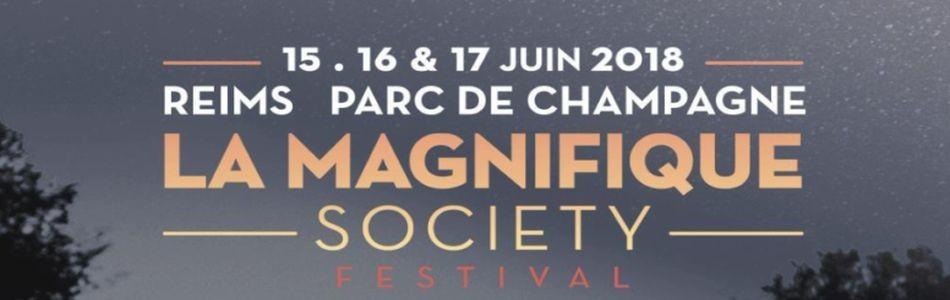 La Magnifique Society le 16/06/2018 au Parc De Champagne - Reims (51)