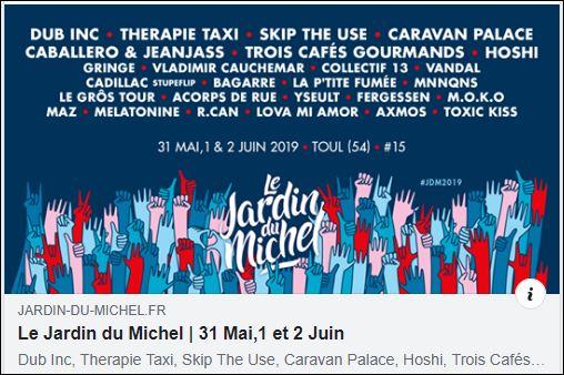 Le Jardin Du Michel 2019