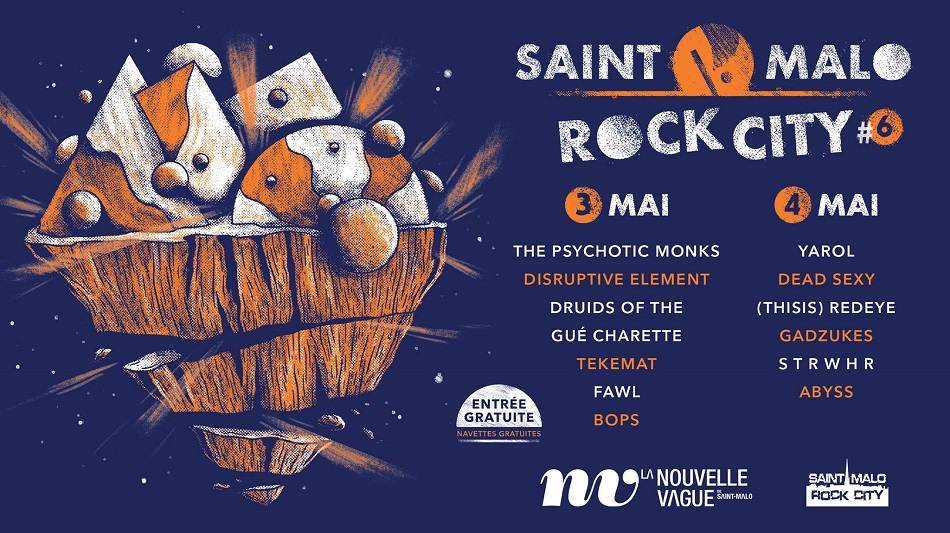 Festival Saint-Malo Rock City # 6 – part II – La Nouvelle Vague – Saint-Malo (35)