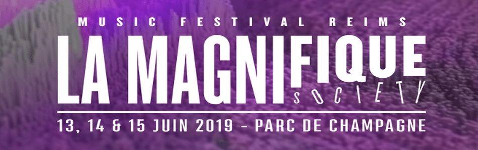 La Magnifique Society le 14/06/2019 - Le Parc de Champagne - Reims (51)