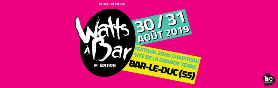 Watts À Bar 2019