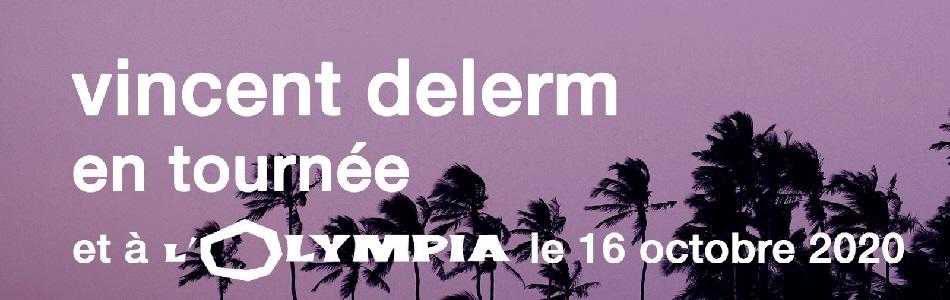 Concert de Vincent Delerm – 16/10/20 – L'Olympia – Paris (75)